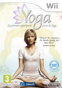 Portada oficial de Yoga para Wii