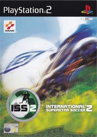 Portada oficial de ISS 2 para PS2