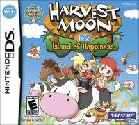 Portada oficial de Harvest Moon: Island of Happiness para NDS