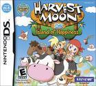 Portada oficial de de Harvest Moon: Island of Happiness para NDS