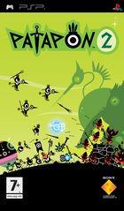 Portada oficial de de Patapon 2 para PSP
