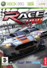 Portada oficial de RACE Pro para Xbox 360