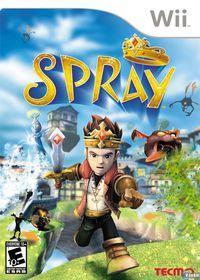 Portada oficial de SPRay para Wii