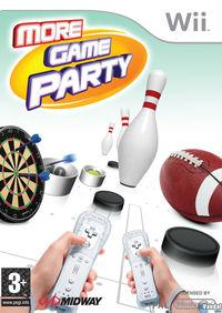 Portada oficial de More Game Party para Wii