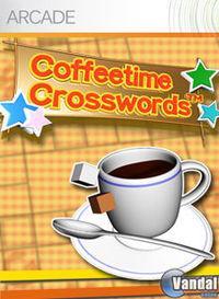 Portada oficial de Coffeetime Crosswords para Xbox 360