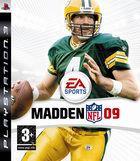 Portada oficial de de Madden NFL 09 para PS3