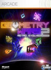 Portada oficial de Geometry Wars Retro Evolved 2 para Xbox 360