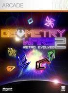Portada oficial de de Geometry Wars Retro Evolved 2 para Xbox 360