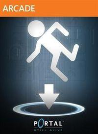 Portada oficial de Portal Still Alive XBLA para Xbox 360