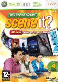 Portada oficial de Scene It Box Office Smash para Xbox 360