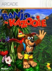 Portada oficial de Banjo-Kazooie XBLA para Xbox 360