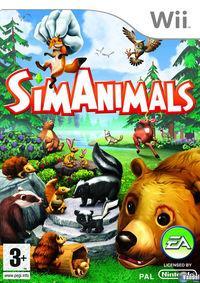 Portada oficial de SimAnimals para Wii
