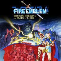 Portada oficial de Fire Emblem: Shadow Dragon & the Blade of Light para Switch