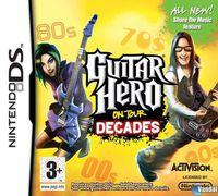 Portada oficial de Guitar Hero On Tour Decades para NDS