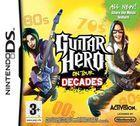 Portada oficial de de Guitar Hero On Tour Decades para NDS