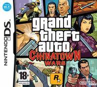 Portada oficial de GTA Chinatown Wars para NDS