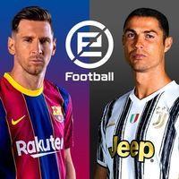 Portada oficial de eFootball PES 2021 Mobile para Android