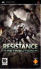 Portada oficial de de Resistance Retribution para PSP