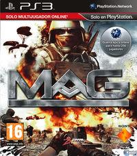 Portada oficial de MAG: Massive Action Game para PS3