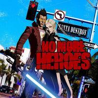 Portada oficial de No More Heroes para Switch