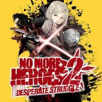 Portada oficial de No More Heroes 2: Desperate Struggle para Switch