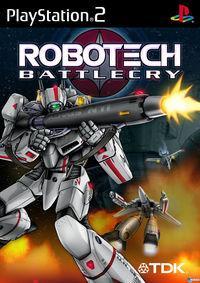 Portada oficial de Robotech: Battlecry para PS2