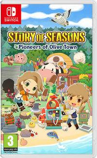 Portada oficial de Story of Seasons: Pioneers of Olive Town para Switch