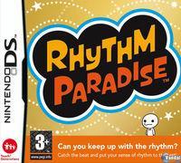 Portada oficial de Rhythm Paradise para NDS