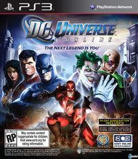 Portada oficial de DC Universe Online para PS3