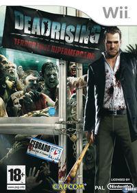 Portada oficial de Dead Rising: Terror en el Hipermercado para Wii