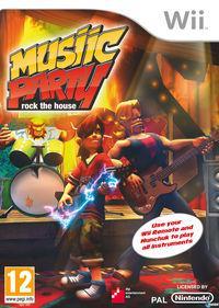 Portada oficial de Musiic Party: Rock the House para Wii
