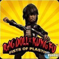 Portada oficial de Rag Doll Kung Fu: Fists of Plastic PSN para PS3