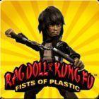 Portada oficial de de Rag Doll Kung Fu: Fists of Plastic PSN para PS3