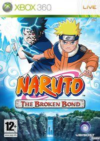 Portada oficial de Naruto: The Broken Bond para Xbox 360