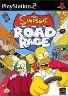 Portada oficial de de The Simpsons Road Rage para PS2
