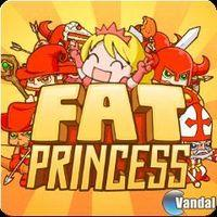 Portada oficial de Fat Princess PSN para PS3
