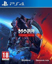 Portada oficial de Mass Effect: Legendary Edition para PS4