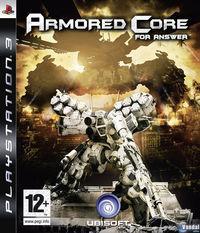 Portada oficial de Armored Core for Answer para PS3