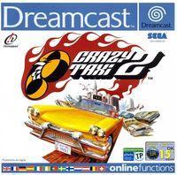 Portada oficial de Crazy Taxi 2 para Dreamcast