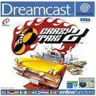 Portada oficial de de Crazy Taxi 2 para Dreamcast