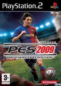Portada oficial de Pro Evolution Soccer 2009 para PS2