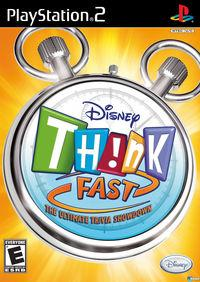 Portada oficial de TH!NK Fast para PS2