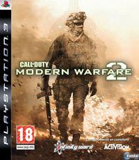 Portada oficial de Call of Duty: Modern Warfare 2 para PS3