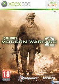 Portada oficial de Call of Duty: Modern Warfare 2 para Xbox 360