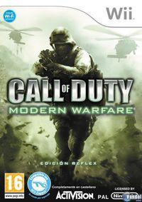 Portada oficial de Call of Duty: Modern Warfare: Reflex para Wii