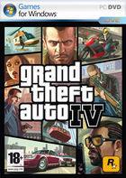 Portada oficial de de Grand Theft Auto IV para PC
