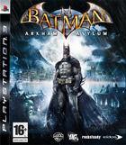 Portada oficial de de Batman: Arkham Asylum para PS3