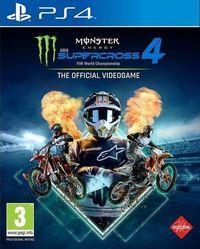 Portada oficial de Monster Energy Supercross 4 para PS4