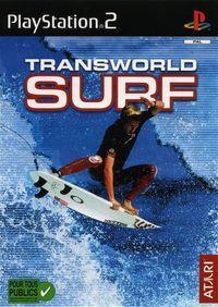 Portada oficial de Transworld Surf para PS2