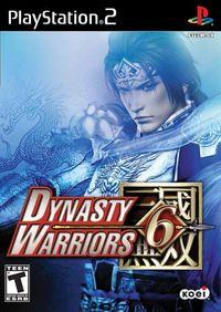 Portada oficial de Dynasty Warriors 6 para PS2